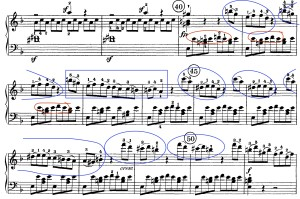annotated second theme Beethoven Tempest